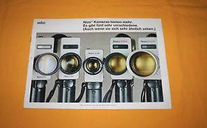 Braun-Nizo-1972-Katalog-Prospekt-Brochure-Prospetto-Depliant-Catalog-Prospect