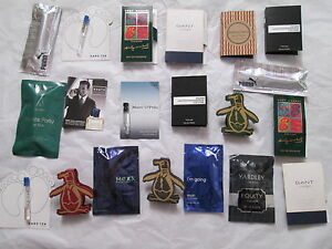 Image Is Loading 20 X Aftershave Samples Mini Travel Size Low