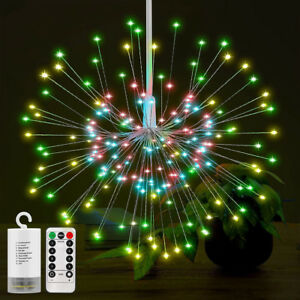 200LED-Solar-Battery-8Mode-Hanging-Starburst-Fireworks-Fairy-String-Light-PartyZ