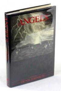Denis-Johnson-Signed-First-Edition-1983-Angels-First-Novel-Hardcover-w-DJ