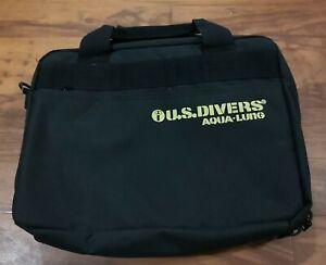 US-Divers-Aqualun-Scuba-Padded-Zipper-Dive-Regulator-Carry-Gear-Bag-Nylon-12x15