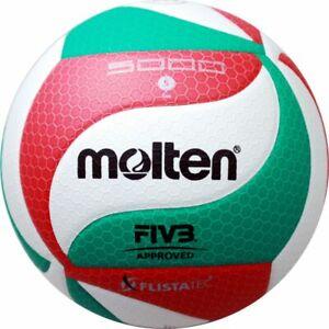Molten v5m5000-de Volley wettspielball blanc vert rouge T 5