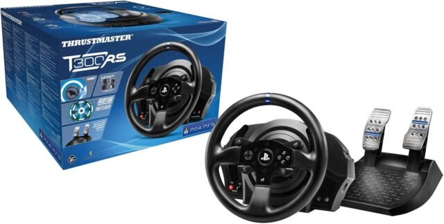 Thrustmaster T300 Rs 1080 Degrees And First Official Force Feedback Wheel Racing