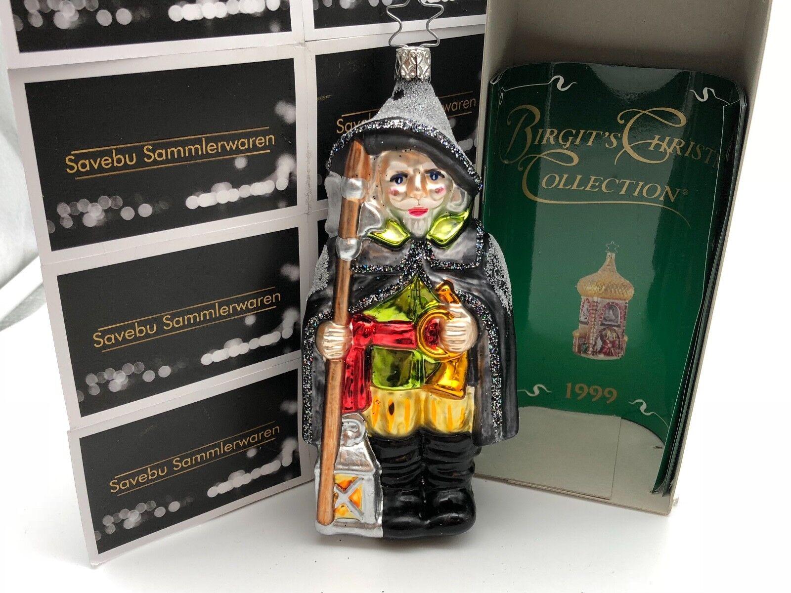 Inge Glas  Birgit´s Christmas Collection Nachtwächter 17 cm  Led. Editio