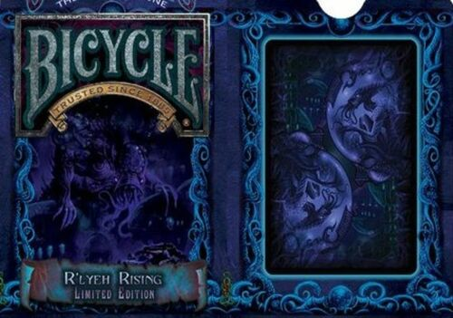 Bicycle New Cthulhu:TGOO R'lyeh Rising Playing Cards - Limited Edition - SEALED
