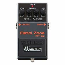 Boss MT-2W Waza Craft Metal Zone Distortion Electric Guitar Effect Pedal