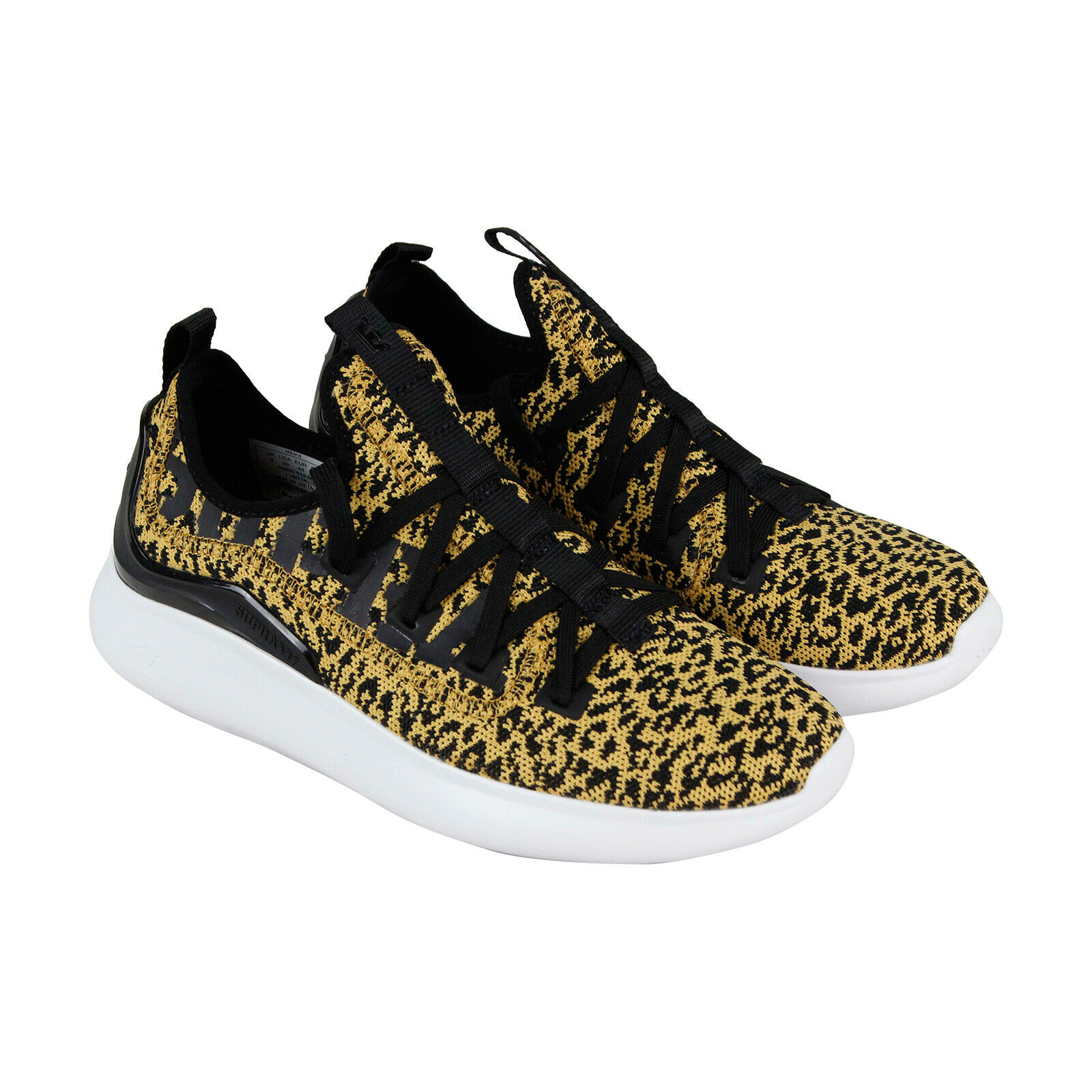 Supra Factor 05895-819-M Mens  Yellow Canvas Low Top Athletic Surf S  shoes  are doing discount activities