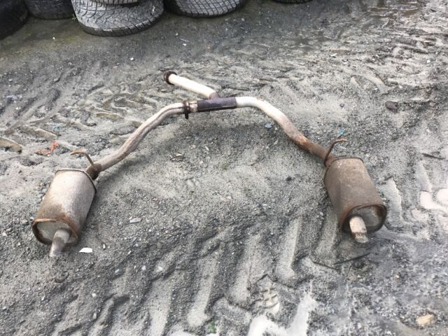 RANGE ROVER P38 2.5 4.0 4.6 Exhaust With Twin Boxes At Rear. 1997 To 2002