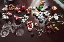 Lot Of 60 Christmas Tree Ornaments(you can Buy It Now)