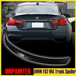 matte black bmw 4 series f82 m4 performance p tyle rear. Black Bedroom Furniture Sets. Home Design Ideas