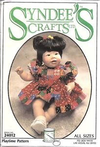 24012Vintage-Syndees-Craft-Sewing-Pattern-Bubble-Suit-Skirting-Doll-10-034-16-034-21-034