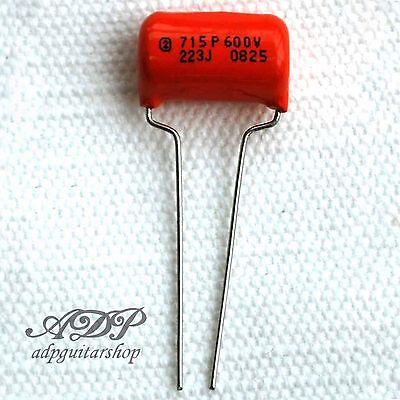 condensateur sprague orange drop 715 capacitor 22nf 022uf