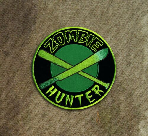Green Zombie Hunter Patch