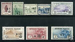TIMBRES-N-162-169-NEUF-GOMME-D-039-ORIGINE
