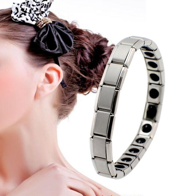 Anti-Fatigue Germanium Titanium Energy Bracelet Power Bangle For Women EB-1