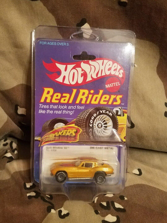 Vintage Hot Wheels Real Riders 1963 63 Split Window C2 Chevy Corvette