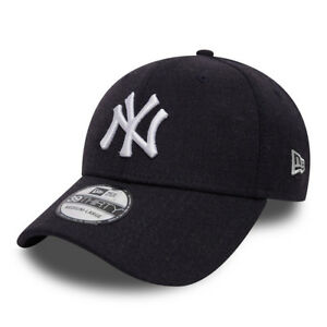 NEW-ERA-FITTED-NEW-YORK-YANKEES-39THIRTY-BLU-NAVY-MELANGE-TAGLIA-SMALL-MEDIUM