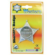 Peterkin - Die Cast Sheriff's Badge - Brand New