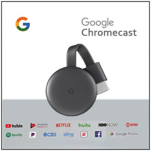 GOOGLE-CHROMECAST-VIDEO-3-HDMI-STREAMING-VIDEO-MEDIA-PLAYER-NUOVO-MODELLO-2019