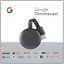 GOOGLE-CHROMECAST-VIDEO-3-HDMI-STREAMING-VIDEO-MEDIA-PLAYER-NUOVO-MODELLO-2019 miniatura 1