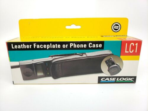 LC1 Leather Faceplate or Phone Case ⭐️ Car Stereo Accessory ⭐️ Case Logic Model