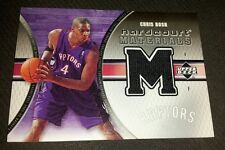 Chris Bosh 2005-06 Hardcourt Jersey Card #HM-CH Toronto Raptors Georgia Tech