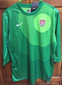 36a681492 Nike US Soccer USWNT Goalkeeper Goalie GK 2016 World Cup Jersey ...