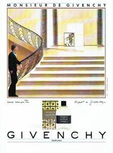 087 About Publicité Monsieur Homme Details Advertising Givenchy Parfums 1985 PyvmN80wnO