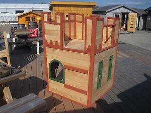 Das Bild Wird Geladen Kinderspielhaus 2 Wahl Spielhaus Kinderhaus  Spielanlage Garten Holz