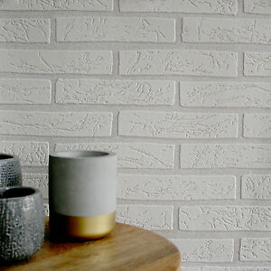 Image Is Loading House Brick Effect 3D Wallpaper In Off