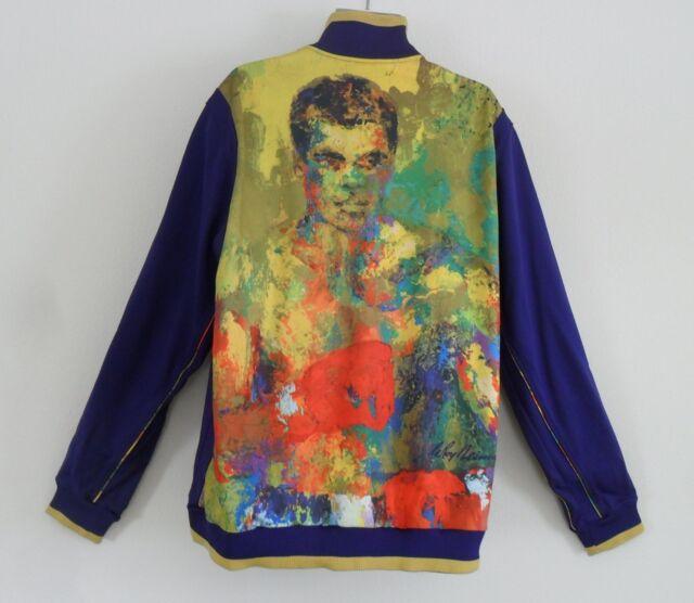 Top Rare~adidas Muhammad Jacket Sweat Firebird~mens Sz Shirt 2xl Ali Track lK3ucT15FJ