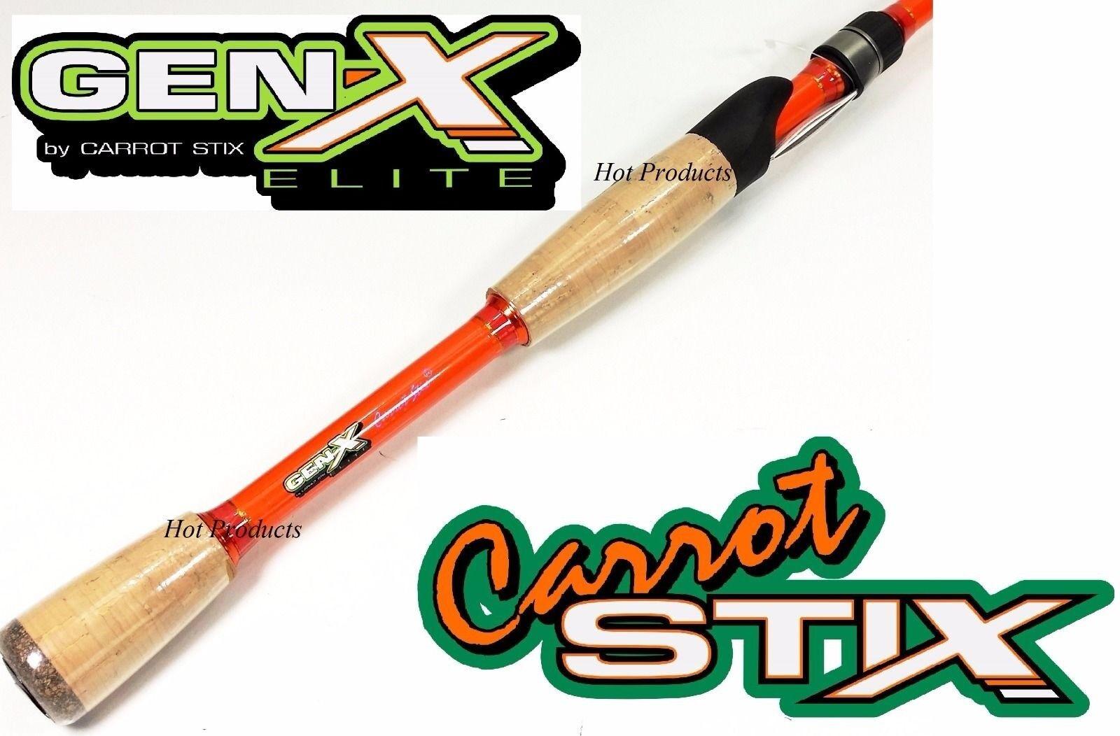 Carred Stix SPINNING 6'7  MH Medium Heavy GEN X ELITE Fishing Rod CGXE671MH-F-S