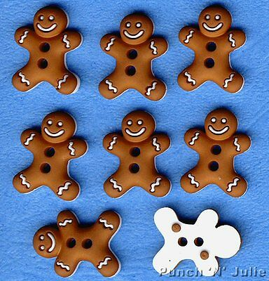 Dress It Up Buttons 8pcs Iced Cookies