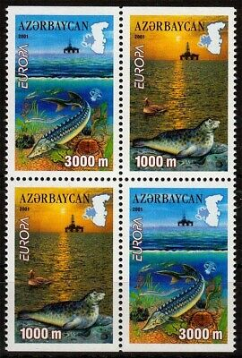 Lebensspender Wasser Clearance Price 494/95 D ** Europa Aserbaidschan Minr