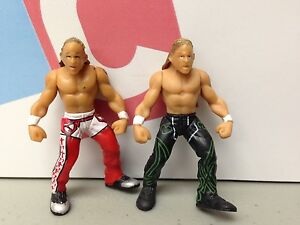 WWE-Wrestling-Jakks-Micro-Aggression-Lot-2-Figures-Shawn-Michaels-Figures-HBK