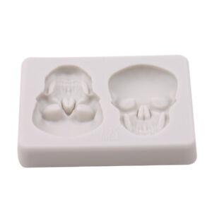 Skull-Fondant-Silicone-Cake-Mould-Chocolate-Baking-Sugarcraft-Tool-Decor-Mold-G