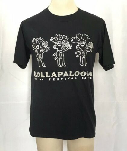 Vintage Lollapalooza Shirt 1991 Ice T, Janes Addic