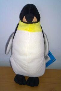 Emperador Pingüino Suave Juguete Peluche 9 in softimals TM Base De Lujo Nuevo con etiquetas approx. 22.86 cm