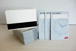 Details about ADP Employee Bar Code Cards, with Black Security Cover