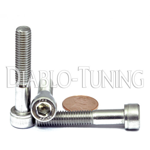 Alloy Steel Socket Cap Screw Meets DIN 912 Imported Internal Hex Drive M3-0.5 Metric Coarse Threads Zinc Plated Finish 30mm Length Pack of 100 Fully Threaded Brighton Best