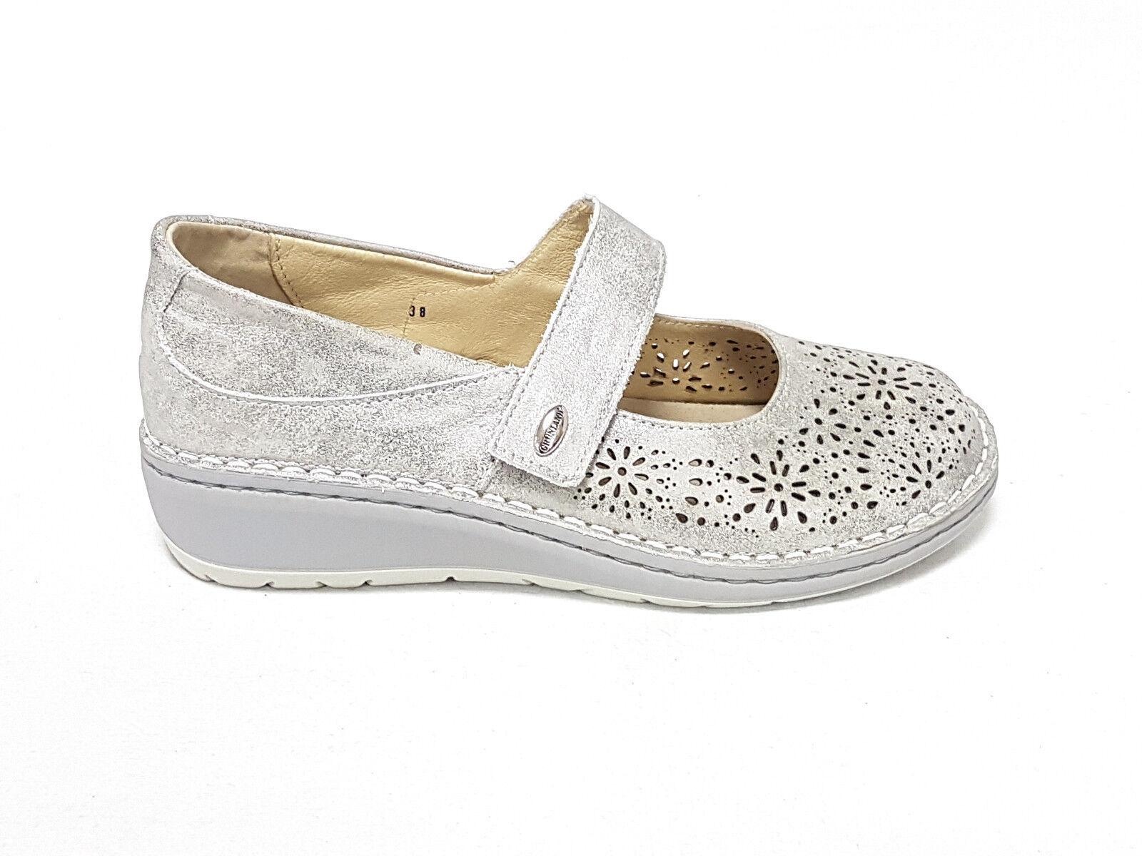 Zapatos de mujer baratos zapatos de mujer Descuento por tiempo limitado Grunland ballerina donna nesi sc3797 argento n°38