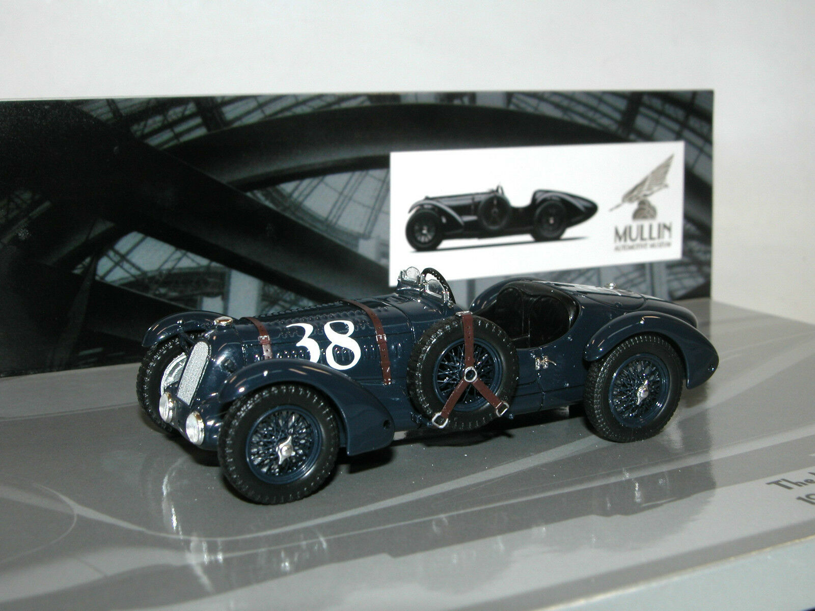 Minichamps 1936 Talbot Lago T 26-SS Grand Prix - Mullin Museum Collection - 1 43