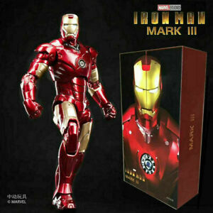 "ZD TOYS Birth of Iron Man MK 3 Mark III 7"" Action Figure Marvel Comic Toys Gifts"