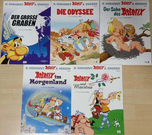 Comics Asterix /& Obelix Sammlung Band 25,26,27,28,29,ungelesen//neuwertig 1A