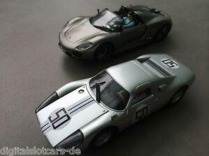 Carrera-Digital-132-30663-30664-2x-Porsche-Special-Models-50-Years-Carrera-NEW