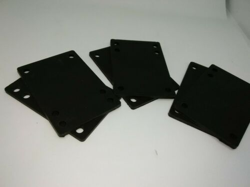 d-43 1 3 sets of soft rubber 1//8 risers- outfit 3 decks or stack them new!