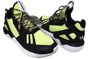 Runner Baskets Taille 5 Noir Adidas Uk Originals 10 Jaune Tubular wAHnv