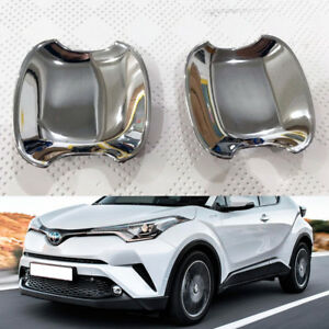 For TOYOTA CHR C-HR 16-18 Car Rear Door Handle Bowl Cover Trim Set Chrome ABS