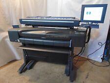 Hp Designjet 800ps C7780b 42 Wide Large Format Plotter Printer Amp 820mfp S6093