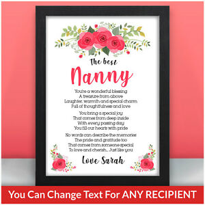 PERSONALISED-Christmas-Poem-Gifts-for-Nanny-Granny-Nana-Mum-Mam-Mummy-Gifts